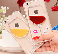 Sexy High-heel Shoe and Liquid Glass Hard Back Case for iPhone 5/5S(Assorted Colors)