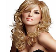 loira perucas sintéticas Onda Média para mulheres europeu senhora nova chegada