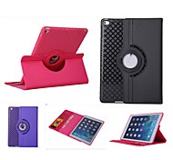 360 Rotation TPU Leather Case Smart Cover Ipad mini3 Flip Cases With Stand Function For Apple iPad Air(Assorted Color)