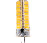 1 pcs G4 12W 80 SMD 5730 1200 LM Warm White / Cool White T Dimmable / Decorative Bi-pin Lights AC 110-130 V