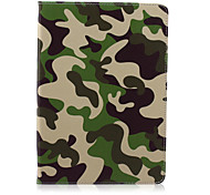 Camouflage  Pattern  Stent Case for iPad Air