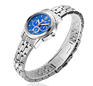 Ladies's Watches Steel Strip Blue Surface Fashion Casual Quartz Watch