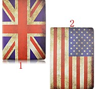 7.9 Inch Flag Pattern High Quality 360 Degree Rotation PU Leather Case for iPad Mini 4(Assorted Colors)