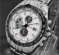 Men's Fashion Quartz Movement Steel Watch
