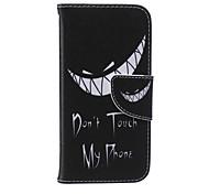 mein Handy Muster PU-Leder Ganzkörper-Abdeckung nicht berühren mit Ständer für iPhone 6 / iphone 6s