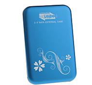 YuanBoTong    2.5 Inch Sata to USB3.0 External Case (Blue)