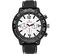 V6® Men's Racing Design Rubber Strap Quartz Casual Watch Cool Watch Unique Watch