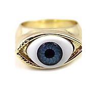 Punk Vintage Blue Eyes Ring