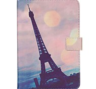 7-Inch Tower Pattern Universal Bracket Protective Case for iPad Mini 3/2/1/4