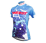ilpaladinoSport Women Short Sleeve Cycling Jersey New Style Distinctive  DX600  Trust  100% Polyester