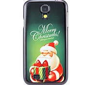 Christmas Santa Claus and Gift Pattern PC Hard Back Cover Case for Samsung Galaxy S4
