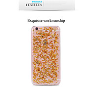 Bling Glitter Gold Silver Transparent Crystal Cover for iPhone 6/6S(Assorted Colors)