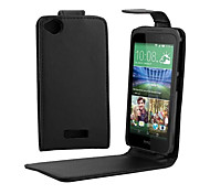 PU Leather Up Down Flip Mobile Skin Case Cover For HTC Desire 320