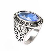 Кольца Мода Для вечеринок Бижутерия Позолота Женский Массивные кольца 1шт,Стандартный размер Золотой