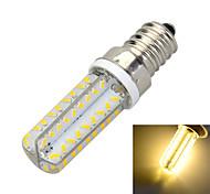 e14 dimmable 6w 500lm 3000k / 6500k 72 cms 3014 conduit lampe ampoule de lumière blanche chaude / froide (ac 220-240v)