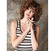любимый стиль горячих продавая расширений syntheic парики женская странный вьющиеся