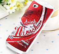 Fashion Cans Silica Back Cover for iPhone 5/5S(Assorted Colors)