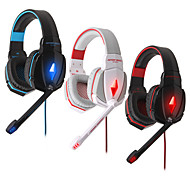 G4000 Stereo Noise Cancelling Gaming Headset w/ Mic HiFi Driver LED Light for PC