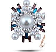 South Korea Rhinestone Brooch