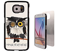 Personalized Case - Blink Owl Design Metal Case for Samsung Galaxy S6/ S6 edge/ note 5/ A8 and others
