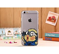 Hit Face Pattern TPU Soft Cover for iPhone 5/5S