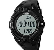 SKMEI® Men's Digital Sports Watch Pedometer / Chronograph / Alarm / Water Resistant Cool Watch Unique Watch
