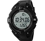 skmei® résistant numérique montre de sport podomètre / chronographe / alarme / l'eau de hommes