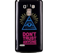 Triangular Eyes TPU Material Cell Phone Case for LG G4