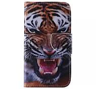 Cuir de tigre modèle de téléphone pour Samsung Galaxy J5