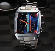 Men's Square Fashion Black Dial Auto Mechanical Watch Wrist Watch Cool Watch Unique Watch