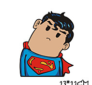Funny Supermen Car Sticker Car Window Wall Decal Car Styling