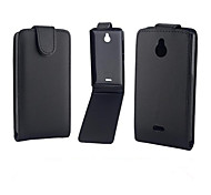 PU Leather Up Down Flip Mobile Skin Case Cover For Nokia X2/X2 Dual