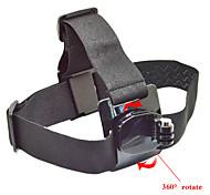 gopro accessori cinghia testa di 360 gradi black edition per go pro eroe 1234 telecamera xiaomi yi sjcam sj4000 sj6000