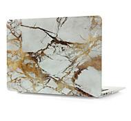 venta más nuevo patrón de flip mármol caliente caso de cuerpo completo para el aire del macbook 11.6 pulgadas