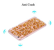 Bling Glitter Gold Silver Transparent Crystal Cover for iPhone 5/5S(Assorted Colors)