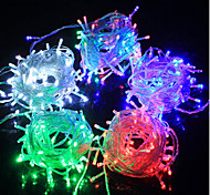 LED String Fairy Lights Light-emitting Diode F5 100LED Waterproof/IP65 3 color Light AC180-240V 10M/Lot