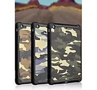 Top Selling Camouflage Back Case Cover for iPad Mini 4 (Assorted Colors)