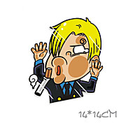 Funny Sanji Car Sticker Car Window Wall Decal Car Styling