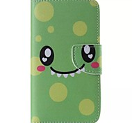 Cartoons Smiley Cell Phone Leather For Samsung Galaxy S5
