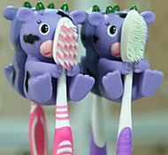1 PCS Animal Shape Hanging Toothbrush Holders(Random Color