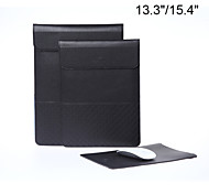 Vertical style lichee grain envelope tablet and laptop sleeve bag case for Macbook Air/Pro Retina 13.3/15.4