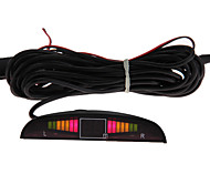 Electromagnetic Car Parking Reverse Back Up Radar Sensor Kit with LED Display