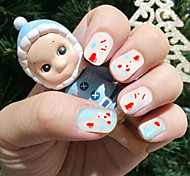 Christmas Series Nail Decals Nail Art Stickers Nail Accessories