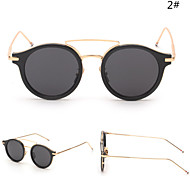 Sunglasses Women's Modern / Fashion Hiking Silver / Gold Sunglasses Full-Rim