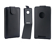 PU Leather Up Down Flip Mobile Skin Case Cover For Nokia Lumia 830