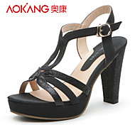 Aokang® Women's Leatherette Sandals - 132811236