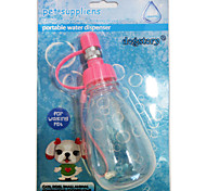 D Small 180 ML Dogs Kettle Kettle Pet Portable Water Fountain The Blister Pack