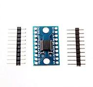 3,3 5v txs0108e 8-канальный преобразователь логического уровня конвертировать TTL двунаправленный взаимной конвертировать