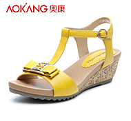 Aokang® Women's Leather Sandals - 132823662