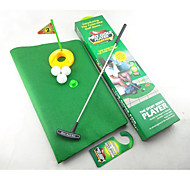 orinal juego de golf aseo putter mini golf fijó golf aseo putting green (1set)